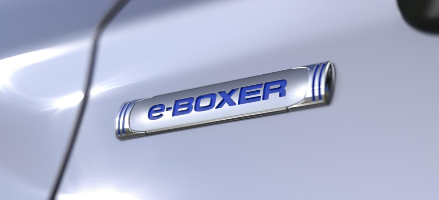 スバルのハイブリッド e-BOXER