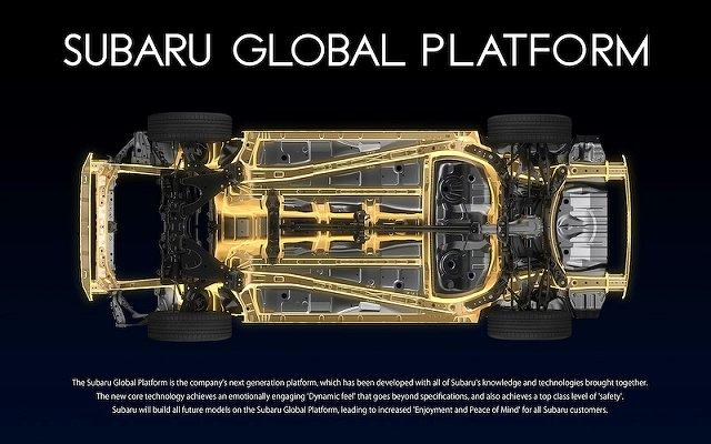 スバル新型WRX S4と新型WRX STIに採用されるプラットフォームSGP