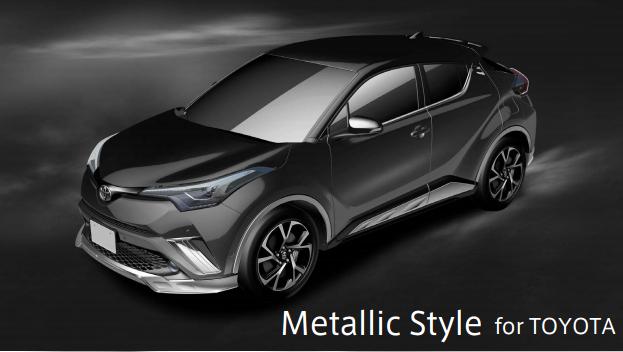 c-hr-metallic-style