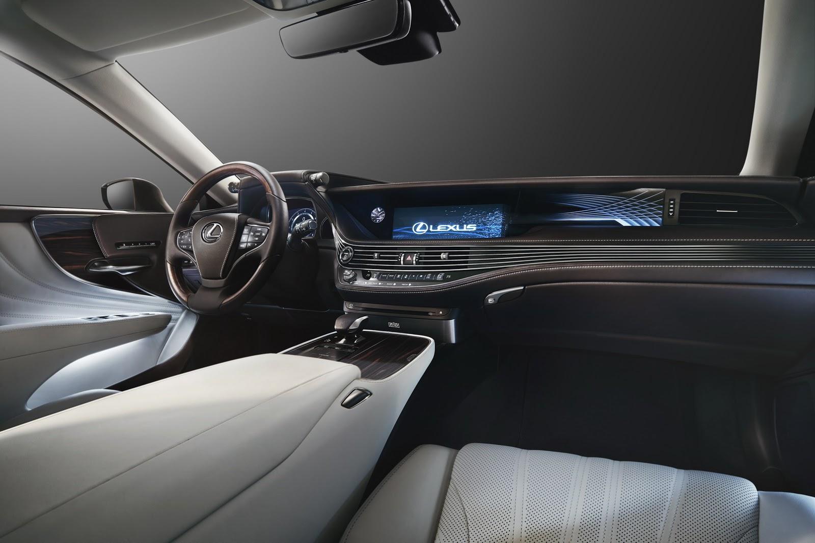 新型レクサスlsのフルモデルチェンジが2017年に実施!ハイブリッドモデルと「lexus Codriver」等の最新