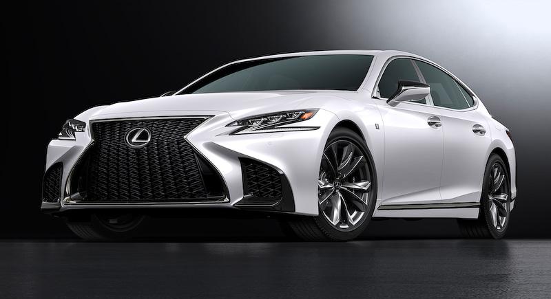 新型レクサスLSのフルモデルチェンジが2017年に実施!ハイブリッドモデルと「Lexus CoDriver」等の最新 ...