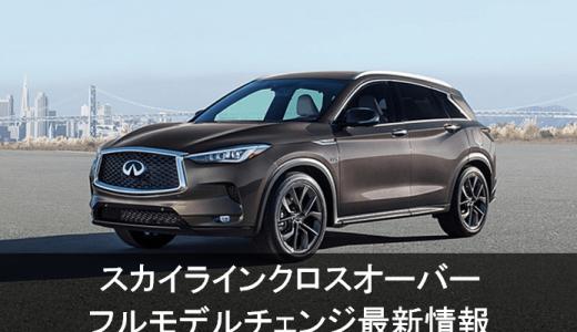 新型インフィニティQX50最新情報!次期スカイラインクロスオーバーとして日本発売に期待