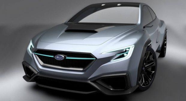 新型WRX S4のコンセプトカーと見られるモデル