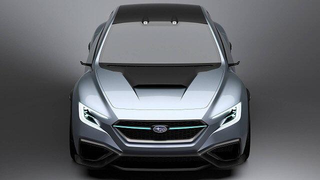 フルモデルチェンジするスバル新型WRX S4のコンセプトと見られる車