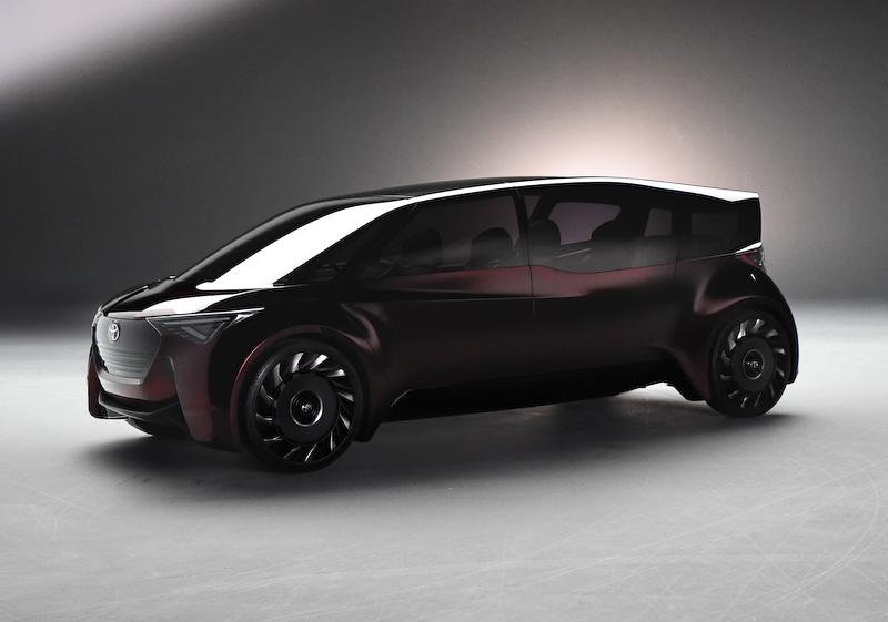 新型エスティマのコンセプトの可能性がある「Fine-Comfort Ride」
