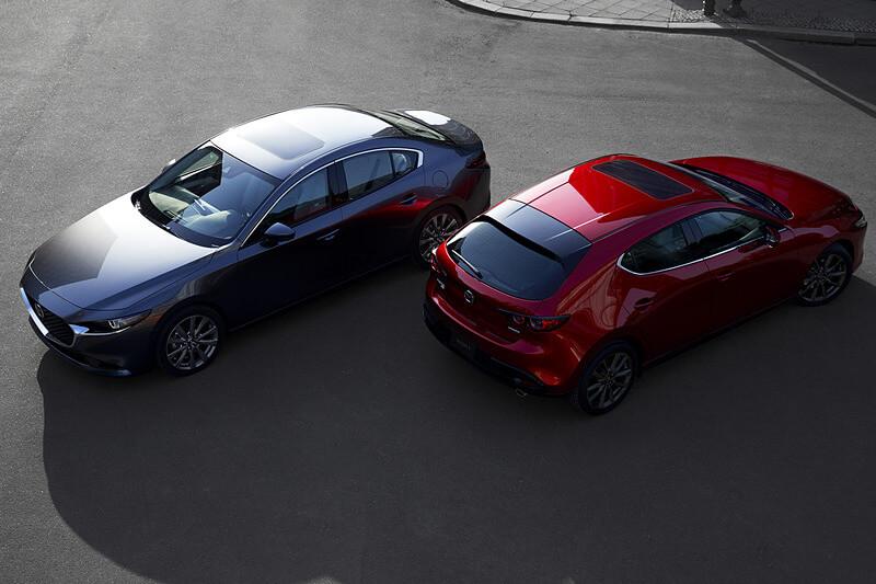 新型Mazda3の外観