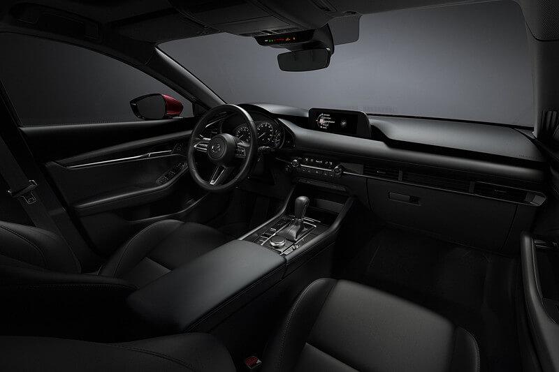 新型Mazda3の内装