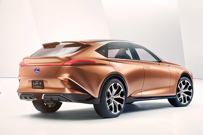 レクサスの新型SUVコンセプト